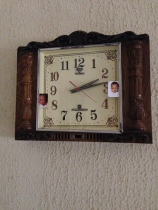 The old trusty clock still works - for as long as I can remember
