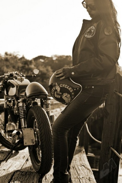 you bring out the biker in me