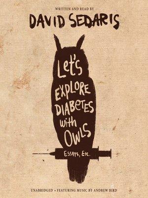 Lets Explore Diabetes With Owls