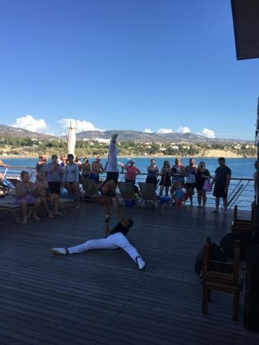 Acrobatic Dancers, Wave Dancer Cruise